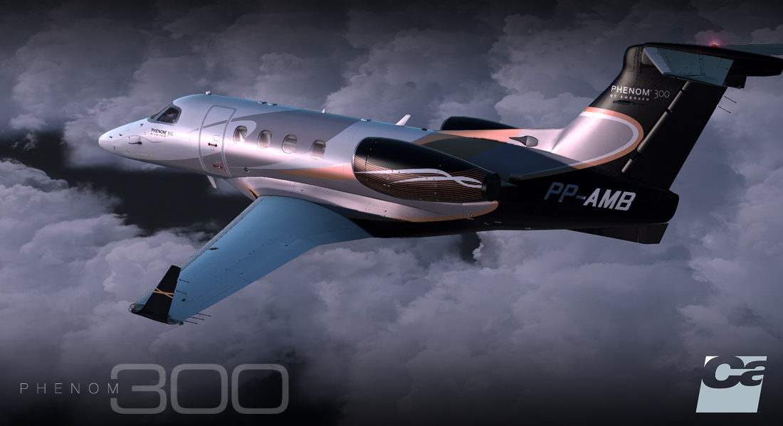 Showcasing Carenado EMB505 Phenom 300 – Lockheed Martin